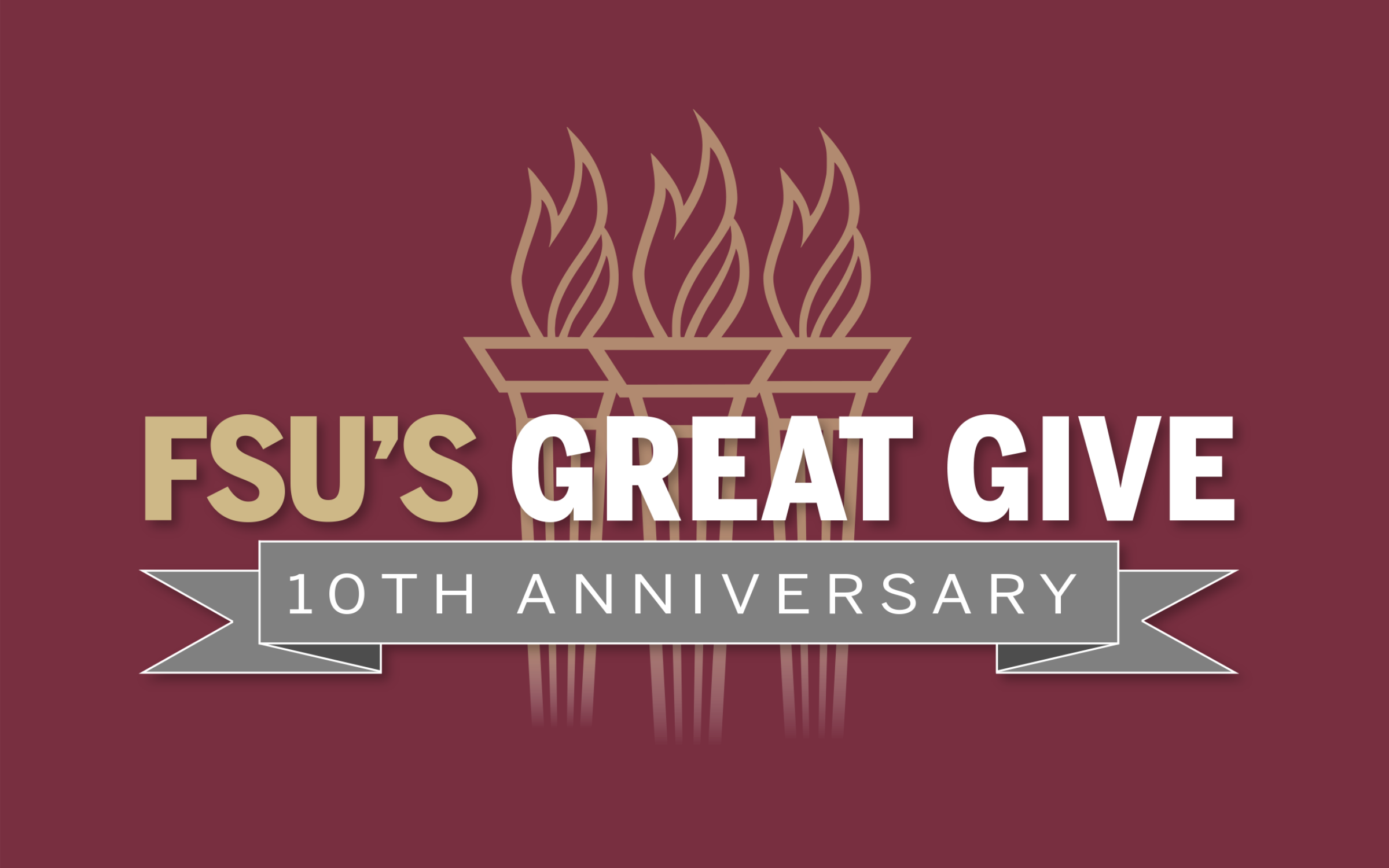 Great Give 10 Anniversary logo
