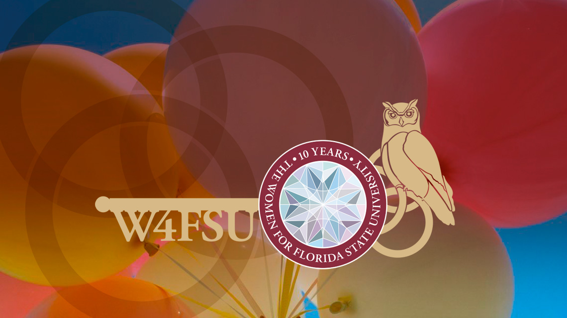 Women for FSU 10th Annuversary logo